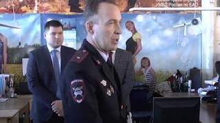 """Встречу с сотрудниками фабрики """"Росток"""" провел главный полицейский ЕАО(РИА Биробиджан)"""