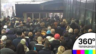 Сбой в движении электропоездов вызвал пассажирский коллапс на Белорусском направлении