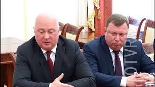 Сотрудничество Мордовии и банка ВТБ, обсудили Владимир Волков и Игорь Рожковский