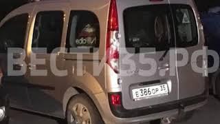 Собака погибает в машине с вологодскими номерами в Кировском районе Петербурга