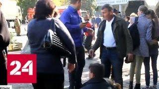 Пулям Рослякова противопоставили камни - Россия 24