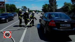 Из-за аварии с маршруткой случилось еще одно ДТП на Набережной Заводской