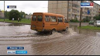 К 1 сентября в Йошкар-Оле завершат строительство «ливневки» на Анникова