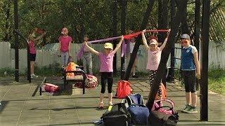 Воспитанники спортивного оздоровительного лагеря «Дружба» из Ханты-Мансийска отдыхают активно