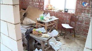 В недостроенном доме на улице Шимская обнаружено два трупа