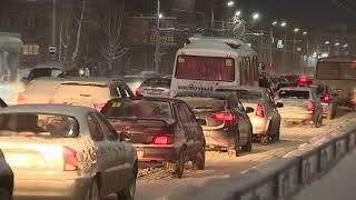 Томские пробки от tvtomsk.ru: видео с квадрокоптера