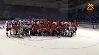Команда правительства бросила вызов лидерам фестиваля ночной хоккейной лиги.