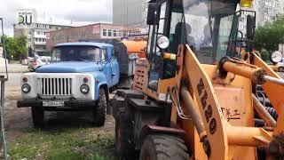 В Кургане строят дорогу по улице Бурова–Петрова. На какой стадии находятся работы?