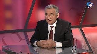 Мэр Юрий Бобрышев про остановку на улице Студенческой в Великом Новгороде