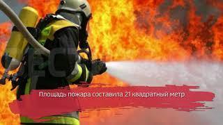 Молния стала причиной крупного пожара в Белозерском районе