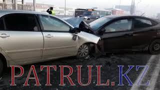 В Алматы в ДТП скончался водитель Toyota
