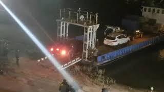 Эвакуация автомобилей с Зелёного острова в Ростове 07.11.2018