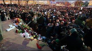 Навальный комментирует митинг в Москве в поддержку жителей Кемерово. Стоит ли говорить о политике?