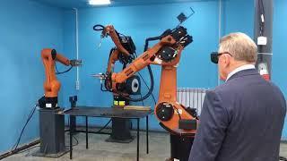 В Комсомольске открыт центр робототехники