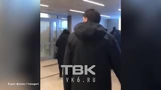 Эвакуация в аэропорту Красноярск