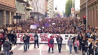 Испанки борются за право не быть изнасилованной