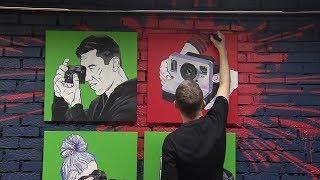 В Уфе прошел творческий форум художников граффити «АртЛаб 19»