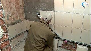 Главный федеральный инспектор Вадим Непряхин проинспектировал ход работ в областной детской больнице