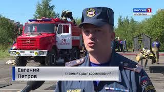 В Костроме стартовали областные соревнования среди пожарных