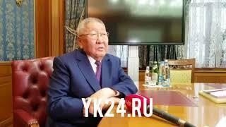 Егор Борисов Ил Дархан дуоһунаһыттан болдьох иннинэ тохтуурун туһунан биллэрдэ