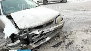 На улице Копылова водитель запутался на новой развязке