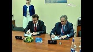 Дмитрий Азаров и Александр Лейбович подписали соглашение о сотрудничестве
