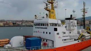 Спасательная операция в Средиземном море