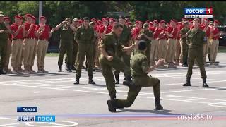 В пензенском лагере «Гвардеец» торжественно закрыта вторая смена