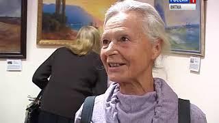 В краеведческом музее открылась выставка репродукций картин Айвазовского(ГТРК Вятка)
