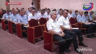 В Махачкале прошла коллегия МВД республики