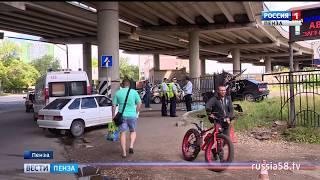 В Пензе водитель отечественной легковушки насмерть сбил пешехода и скрылся