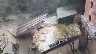 На Гонконг обрушился тайфун «Мангхут»