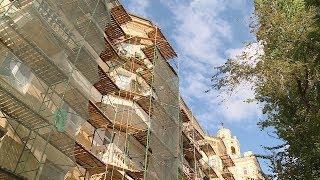 В Волгограде восстанавливают уникальный облик исторического здания