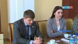 Сахамин Афанасьев встретился с депутатом Госдумы Сергеем Боярским
