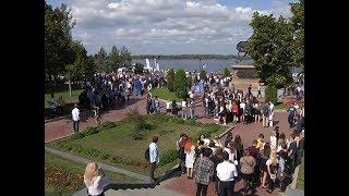Студенты СамГТУ отметили 1 сентября на самарской набережной