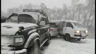 ДТП с участием пяти автомобилей произошло в Черниговском районе Приморья