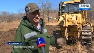 В Приморье прошли масштабные учения по тушению лесных пожаров