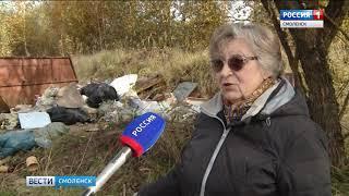 Смоленских дачников обяжут оборудовать площадки сбора ТБО