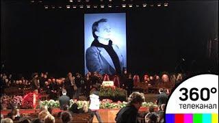 В МХТ имени Чехова прощаются с Олегом Табаковым
