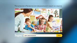ТОП-5 запросов в поисковой системе Яндекс: 01-04 октября
