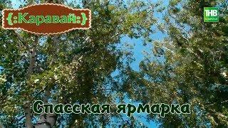 Спасская ярмарка. Каравай 12/08/18 ТНВ