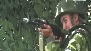 Учения мотострелков ВВО