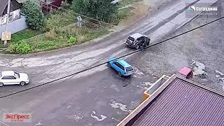 ДТП Бийск 23 августа ул. Гастелло-Шадрина