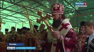 В Ильинском храме Нижне-Архызского городища прошла праздничная литургия в честь Дня пророка Илии