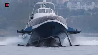 Ходовые испытания морского пассажирского судна «Комета 120М»