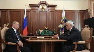 Полтавченко доложил Путину о состоянии дел в Петербурге