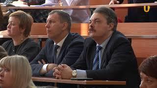 """UTV. Своей теорией """"образования будущего"""" поделился Виктор Садовничий"""