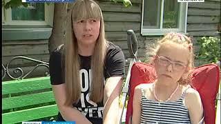 11-летней Ане Лёман требуются средства на восстановительное лечение ДЦП