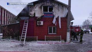 В Башкирии сгорел магазин