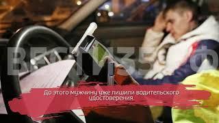Жителя Вашкинского района отправили в тюрьму за пьяную езду